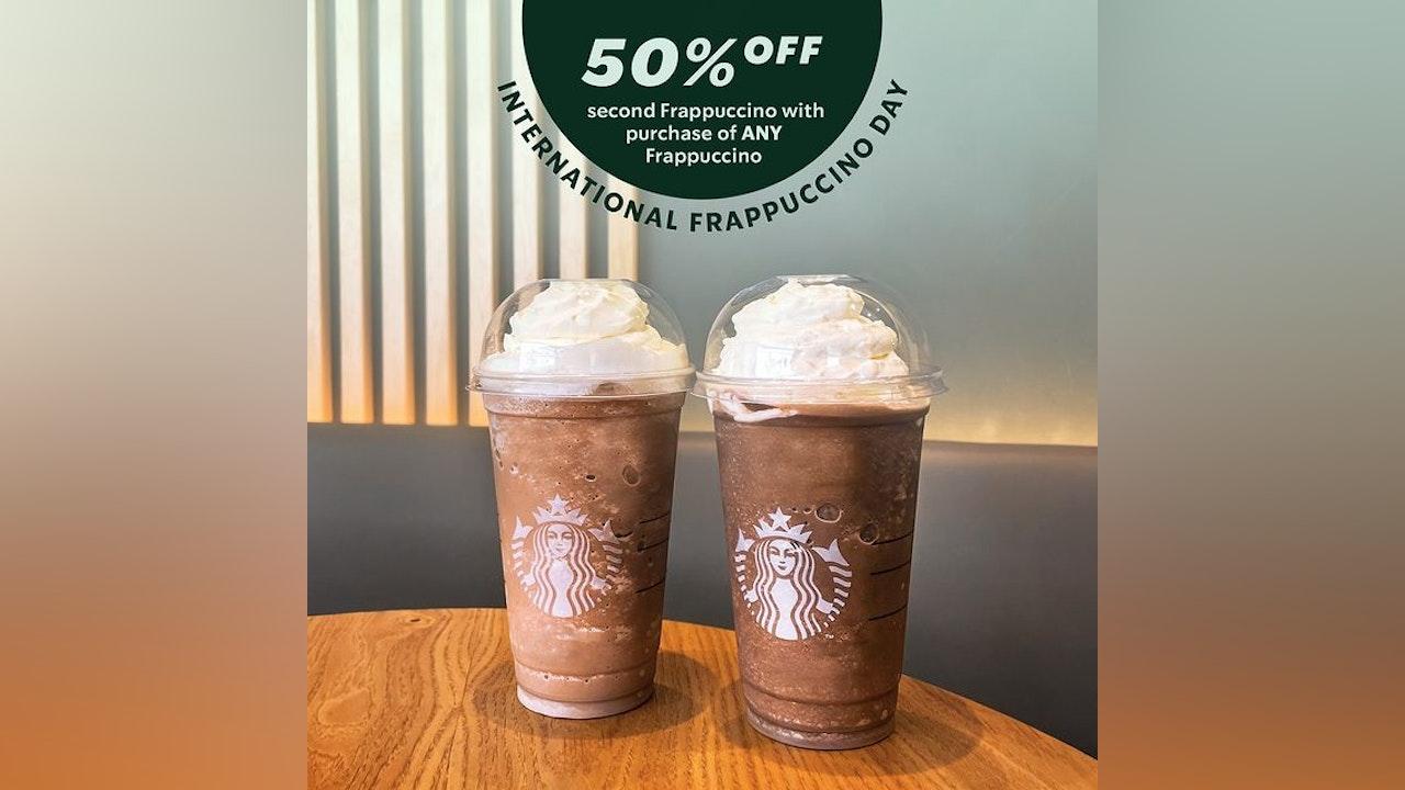 Starbucks International Frappuccino Day Deals