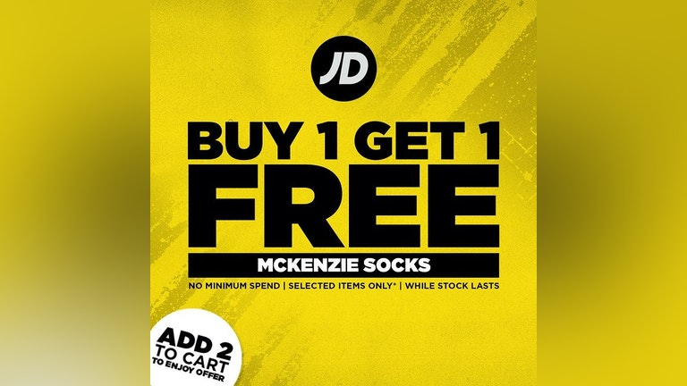 Buy 1 Free 1 McKenzie Socks