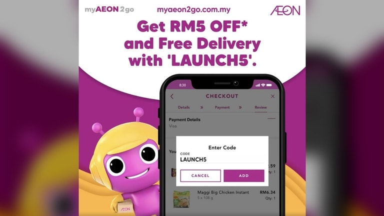myAEON2go Launching Celebration