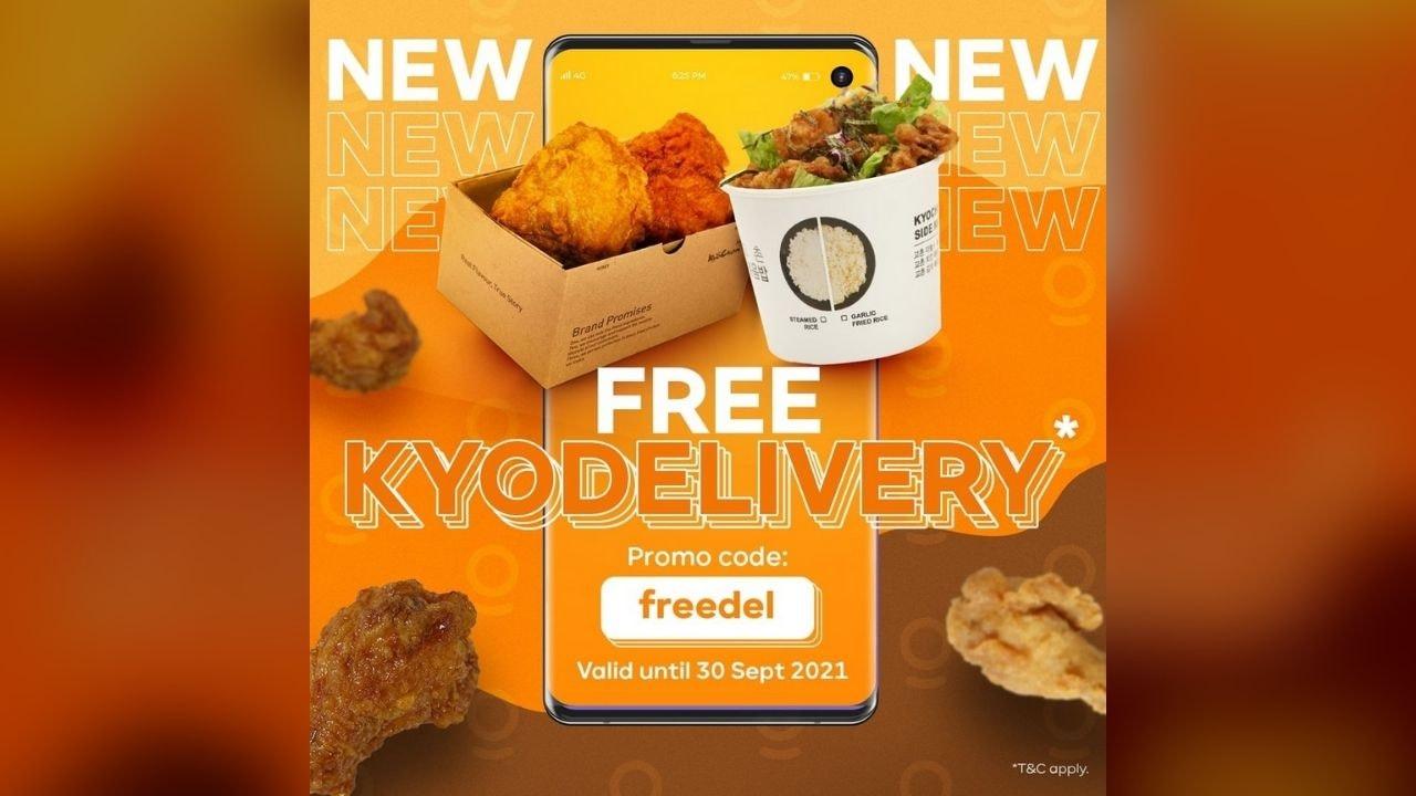 Free Delivery via KyoChon Website
