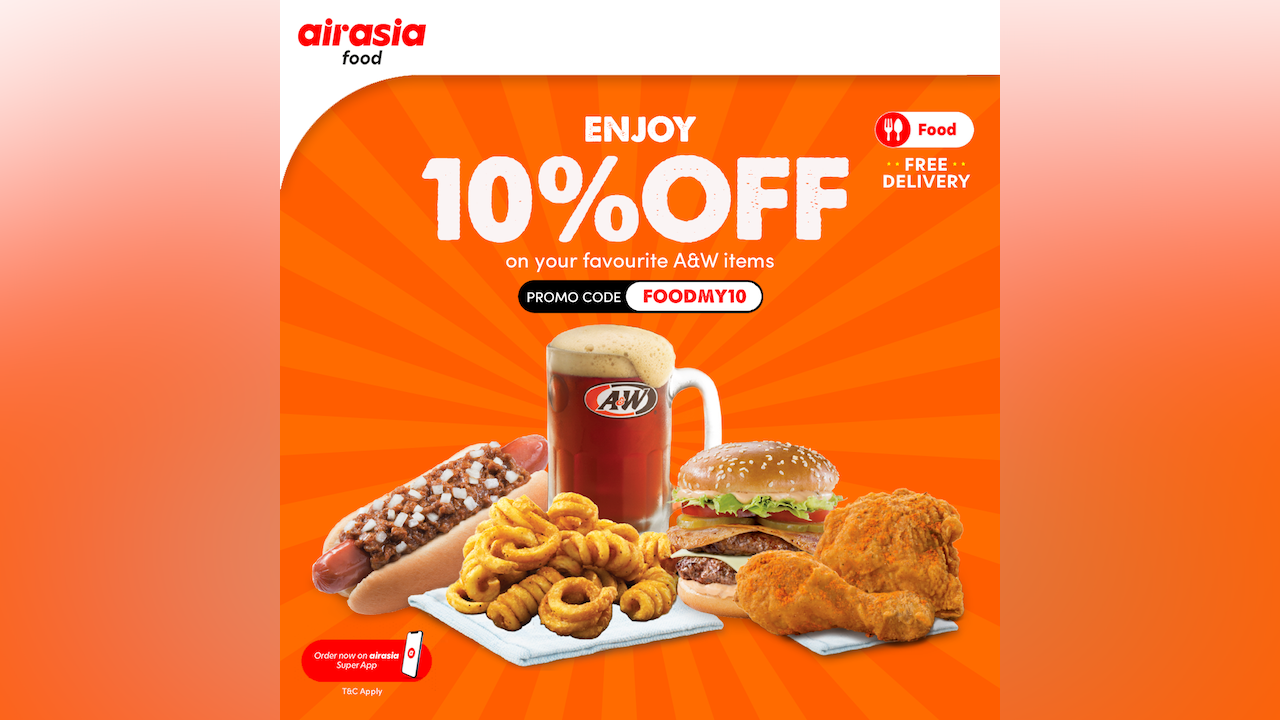 A&W's Fan10stic Sale at AirAsia Food